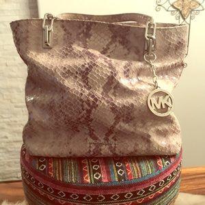 Michael Kors reptile handbag